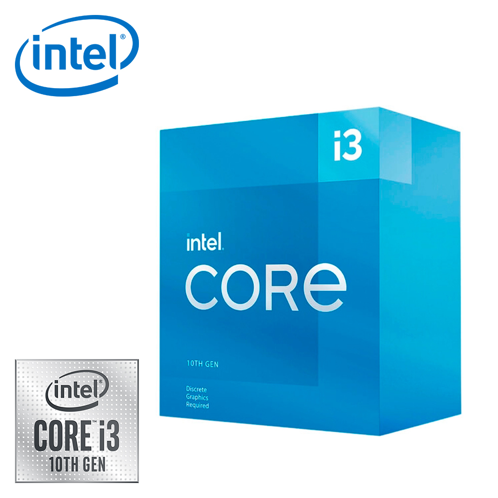 【Intel 英特爾】Core i3 10105F 四核心處理器