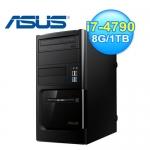 ASUS 華碩 BM6AE i7 8G Win7 Pro 桌上型電腦
