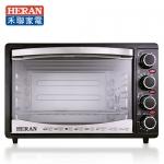 【HERAN 禾聯】30公升 四旋鈕電烤箱(HEO-3001SGH)