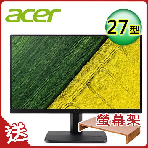 Acer ET271 27型 IPS 窄邊框電腦寬螢幕