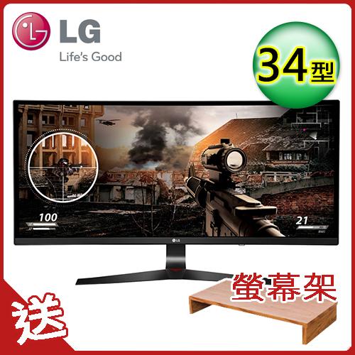 LG 34吋 21:9 曲面寬螢幕 電競專用顯示器 34UC79G-B