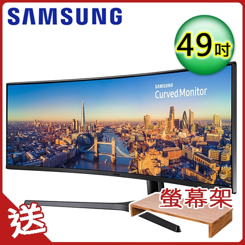 SAMSUNG 三星 49吋 C49J890DKE 32:9 曲面螢幕顯示器
