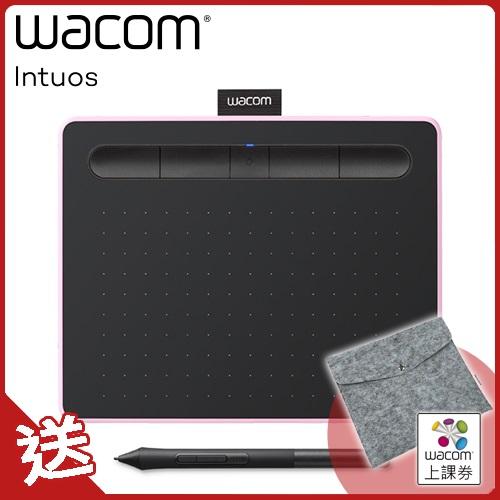 Intuos Comfort Plus Medium 繪圖板(藍芽版) - 粉