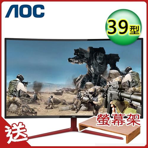 【AOC】39型 VA曲面電競螢幕(G3908VWXA)