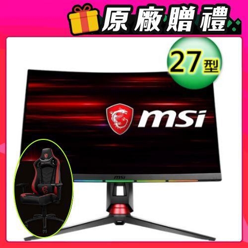 MSI 微星 Optix MPG27C 27型 1800R曲面電競螢幕