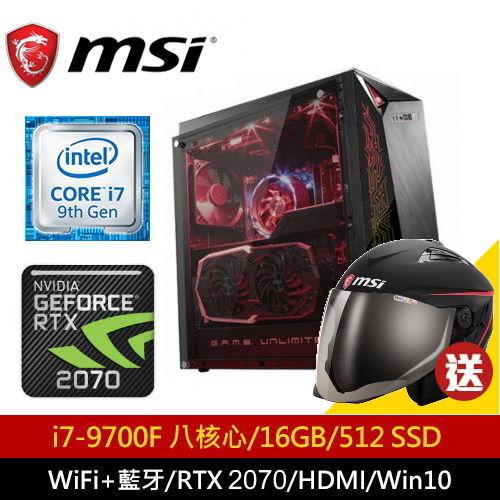 【MSI 微星】Infinite A 9SD-851TW 電競桌機