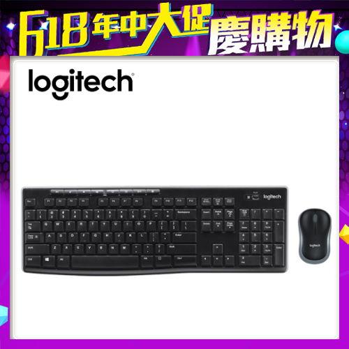 【logitech 羅技】MK270R 無線滑鼠鍵盤組
