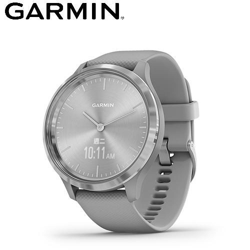 【GARMIN】vivomove 3 指針智慧腕錶(柏林迷霧銀)