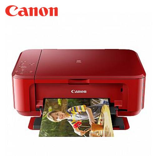 Canon 佳能 MG3670 多 複合機-紅