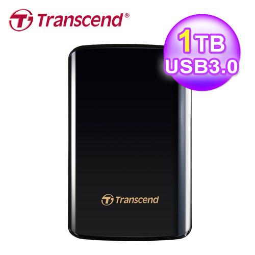 创见 SJ25D3 1TB 外接硬盘 USB3.0 黑