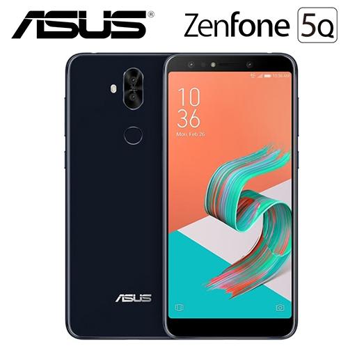 ASUS 华硕 ZenFone 5Q ZC600KL 6吋  4G/64G 智慧手机 星空黑