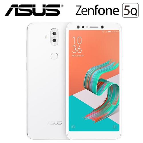ASUS 华硕 ZenFone 5Q ZC600KL 6吋  4G/64G 智慧手机 月光白