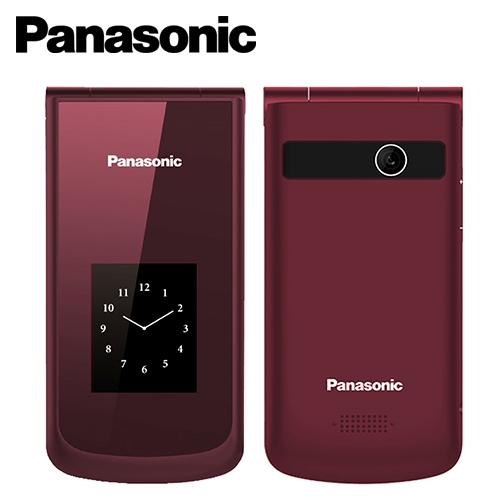 【Panasonic  国际牌】VS-100 大萤幕折叠 御守机 葡萄红