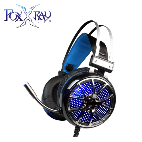 【FOXXRAY 狐鐳】貪婪響狐 電競耳機麥克風(FXR-SAU-07)