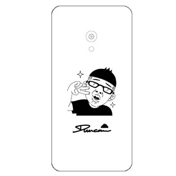 ZenFone 5 x Duncan背蓋 啾咪
