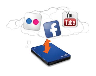 自動備份並保護相片、影片與其他資料