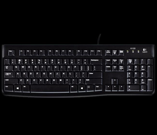 羅技 K120 有線鍵盤