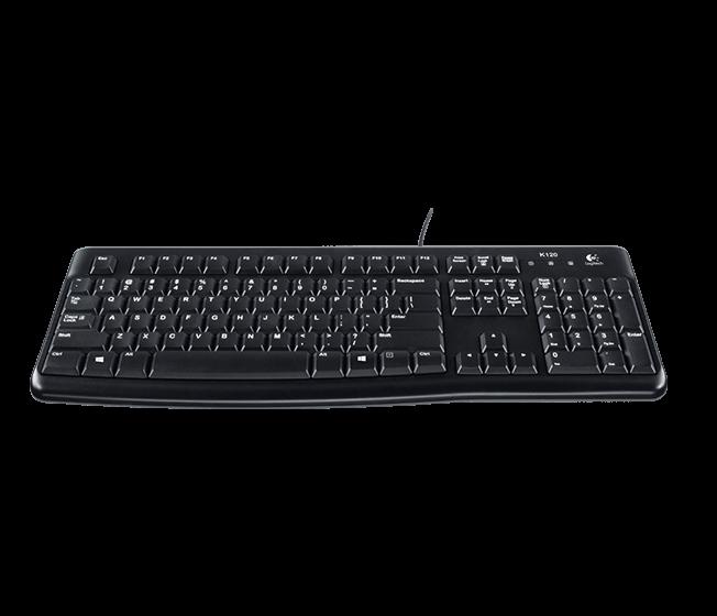 Logitech 羅技 MK120有線鍵鼠組